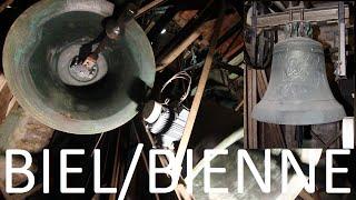BIEL/BIENNE (CH - BE): Kath. Kirche St. Maria: Vollgeläute