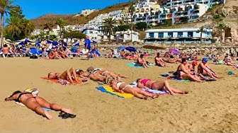 Gran Canaria Puerto Rico Beach The Weather in February 2020