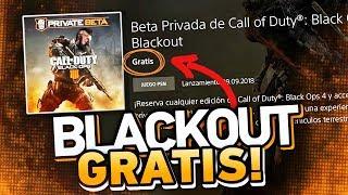 BETA de Blackout GRATIS, SIN CÓDIGOS ni RESERVA en PS4 (Si hiciste lo mismo con la BETA anterior)