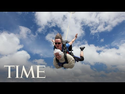Dave Hill - Fearless Granny Jumps Out of Plane