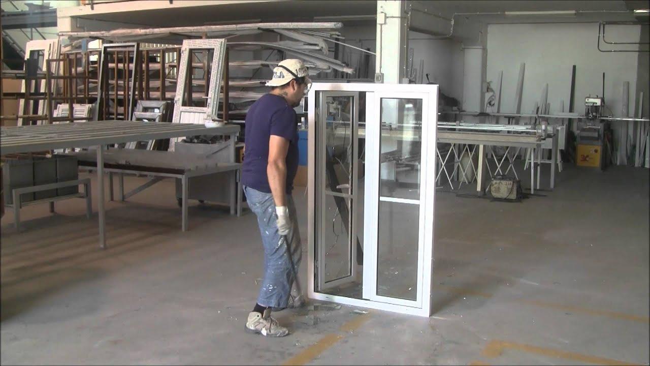 #7F654C janela pvc segurança pinhal novo   1728 Janela De Aluminio No Es