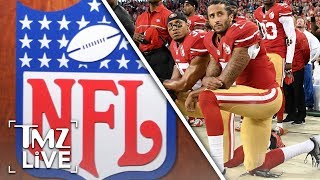 New NFL Rule Punishes Players That Kneel! | TMZ Live