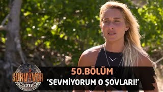 Sema, Merve'nin tavrından rahatsız! | 50. Bölüm | Survivor 2018