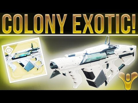 """Destiny 2 Exotic Review! """"The Colony"""" Exotic Grenade Launcher. (Probably The Most Fun Exotic Ever!)"""