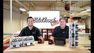 Edelbrock LIVE Episode #6: LS3 Intakes