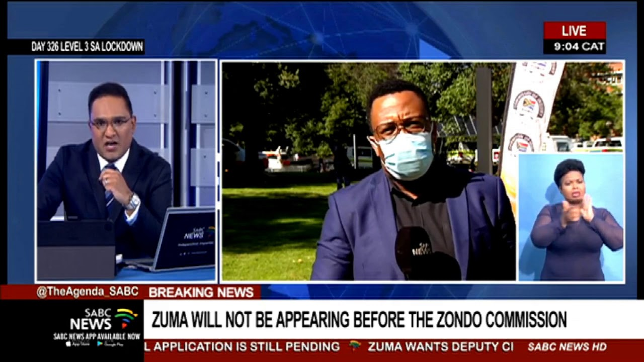Download State Capture Inquiry | Former President Jacob Zuma not appearing at the Zondo Commission