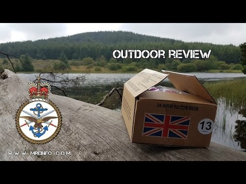 UK 24hr ORP Menu 13 Unbox And Breakfast Outdoor Review Part 1