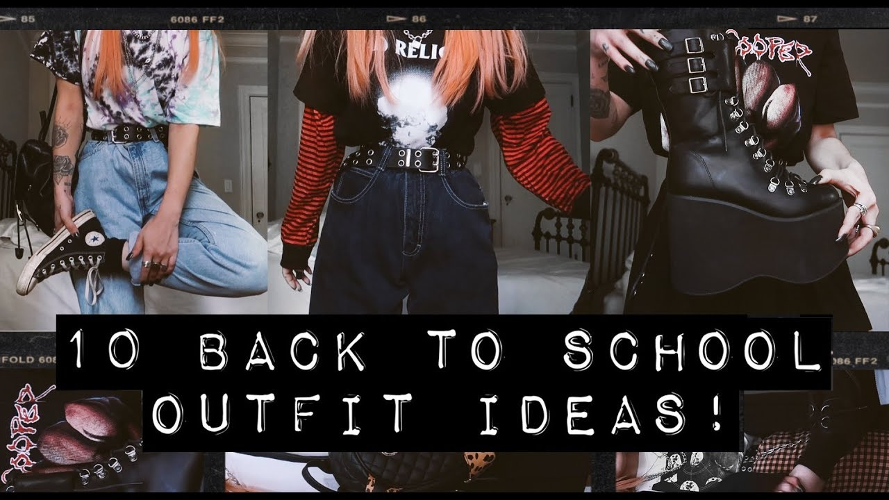 [VIDEO] – 10 BACK TO SCHOOL OUTFITS!!