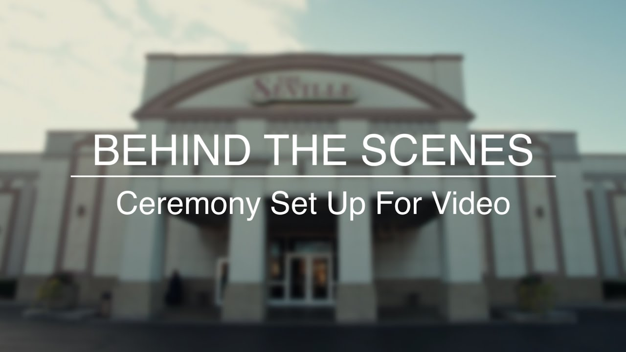 Behind The Scenes How To Film A Wedding Ceremony