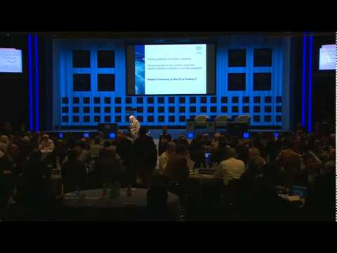 Davos Annual Meeting 2010 - World Economic Brainstorming Redefining the Global Commons