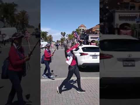 Protests At Huntington Beach