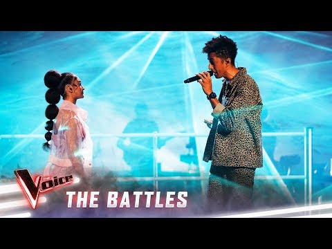 The Battles: Zeek V Lara 'Lovely' | The Voice Australia 2019