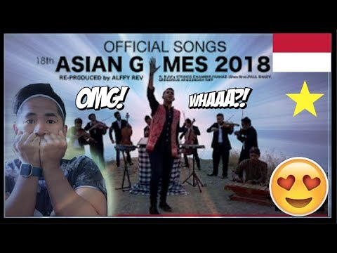 (REACTION!) Alffy Rev - Official Songs 18th Asian Games 2018 Mash-up COVER