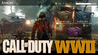 Supply Drops and DLC Weapons in Call of Duty: WWII