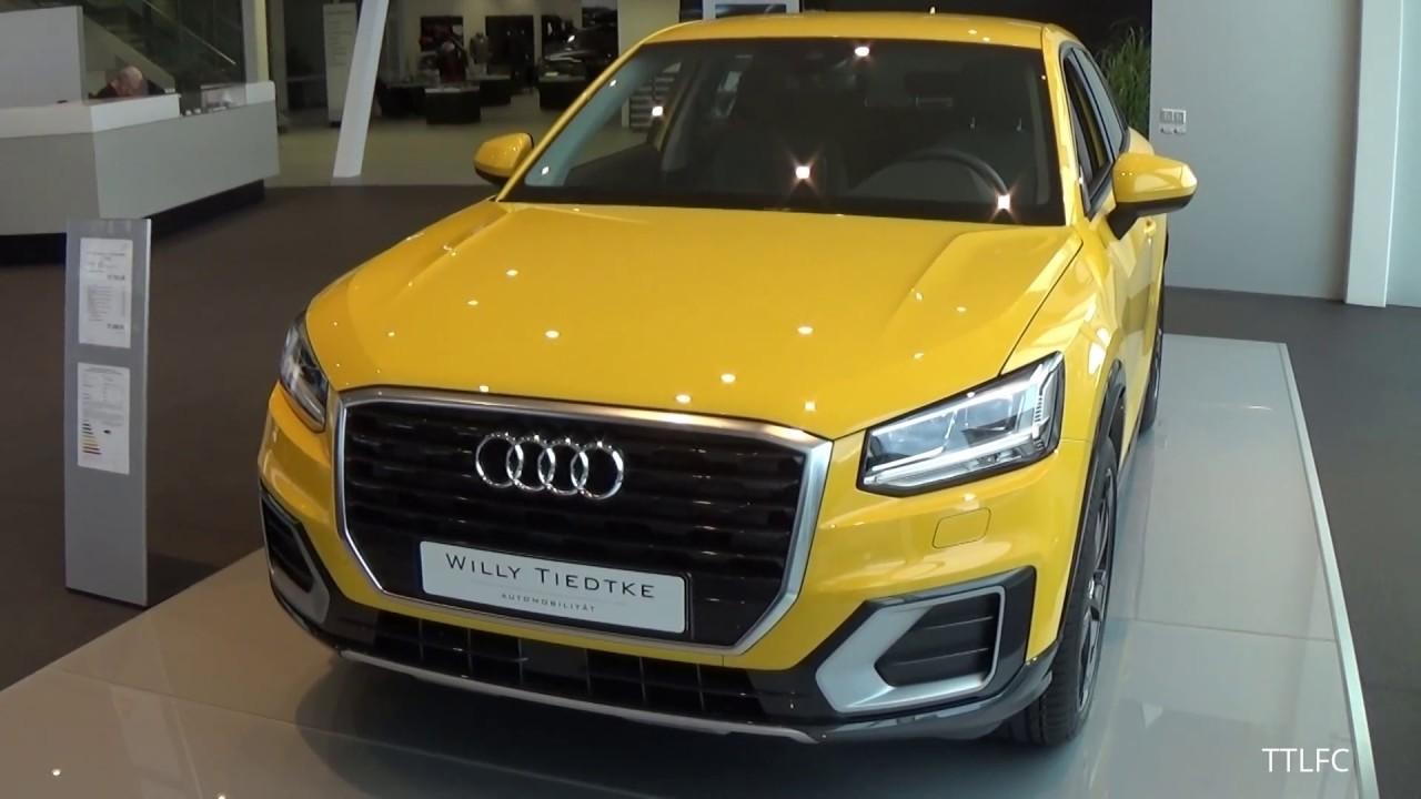 Cars Audi Q2 In Yellow Youtube