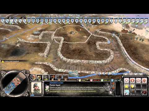Company Of Heroes II, Chill session (D-day MAP 1000 .population cap)