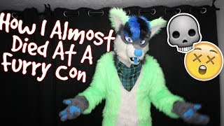 HOW I ALMOST DIED AT A FURRY CON