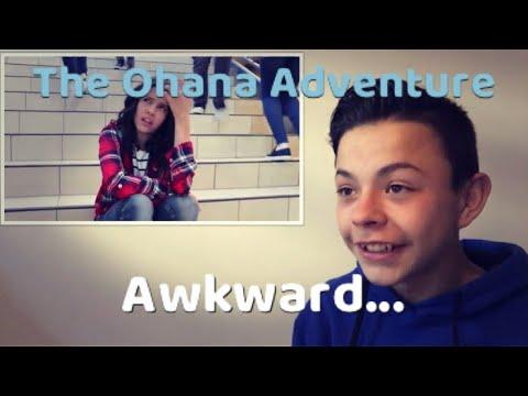 Reacting to Awkward The Ohana Adventure Parody