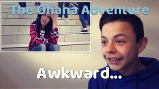 Reacting to Awkward- The Ohana Adventure Parody