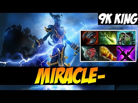 THE 9K KING WITH RAZOR - Miracle-  Dota 2