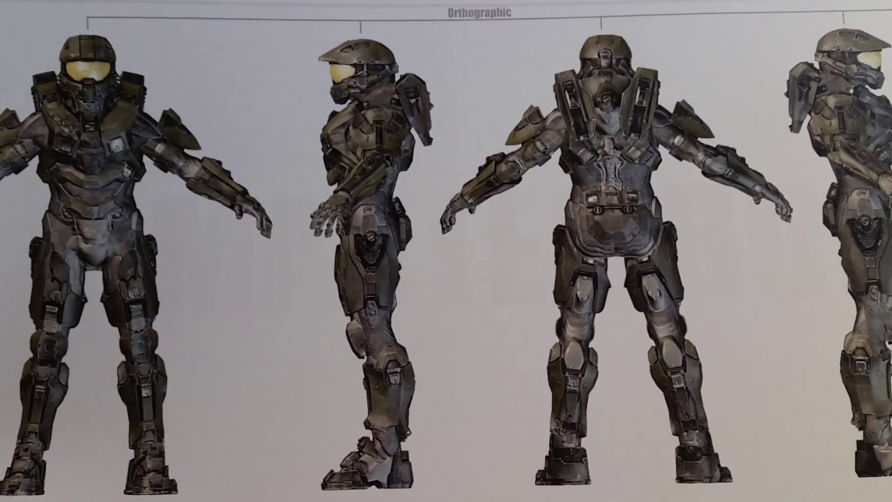 Master Chief Without Armor