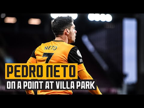 Neto assesses a point at Aston Villa