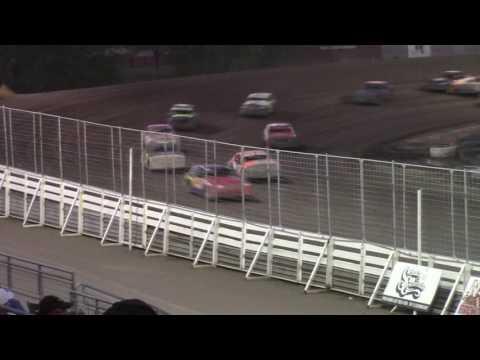 Nodak Speedway IMCA Hobby Stock A-Main (8/21/16)