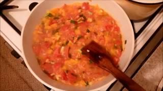 Филе ФЛАУНДЕРА, запеченного с овощами под греческим йогуртом. Здоровое питание
