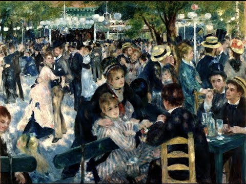 Pierre-Auguste Renoir - Bal Du Moulin De La Galette (1876)