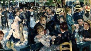 Art History Online presents 'Bal du Moulin de la Galette' by French...