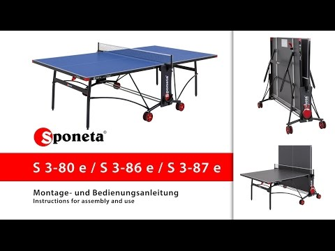 a61492e7b26 Sponeta lauatennise laud harrastajale, outdoor - Sportservice