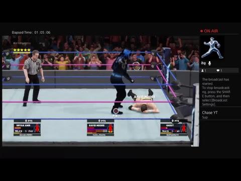 WWE 2K18 RTG