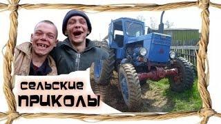 Анекдоты про трактористов,  комбайнеров, трактора