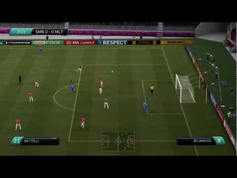 FIFA 12 | Euro 2012 | Euro Challenge | Episode 3 | San Marino Group Game #3