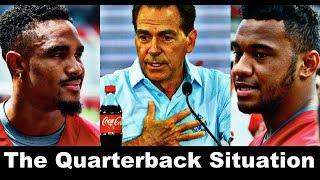 Alabama Football Quarterback Situation, Nick Saban, Jalen Hurts, and Tua Tagovailoa