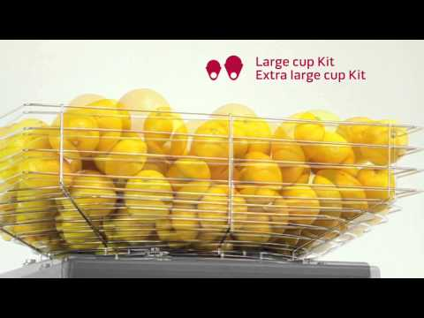 Zummo Z40 Automatic Citrus Juicer - Operating and Cleaning