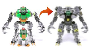 Gambar cover My Son's Mech Upgrade Again - Crocodile Soldier Mech - Stop Motion Build