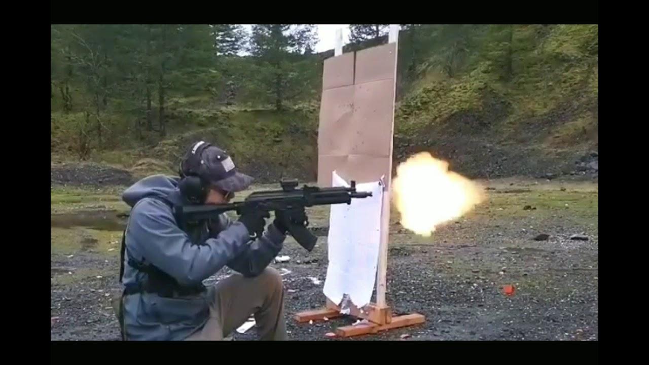 ak pistol throwing fireballs