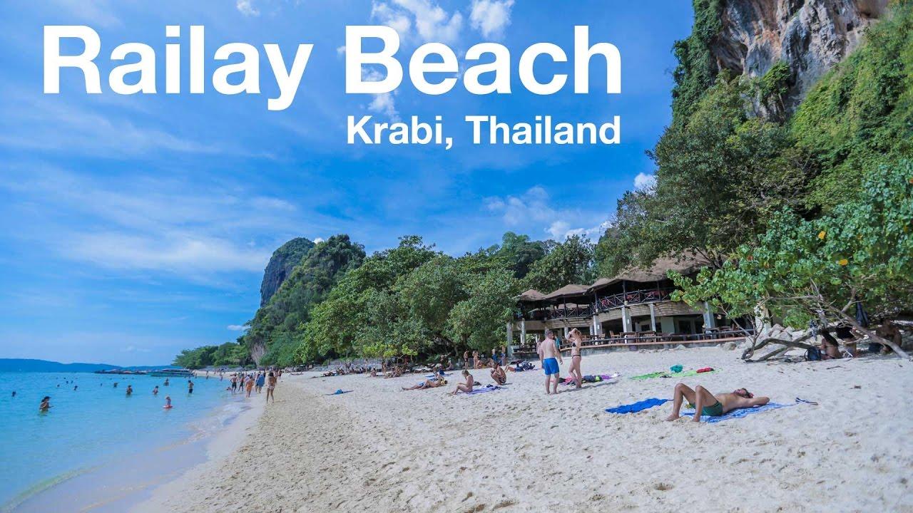 Railay Beach Krabi Thailand You
