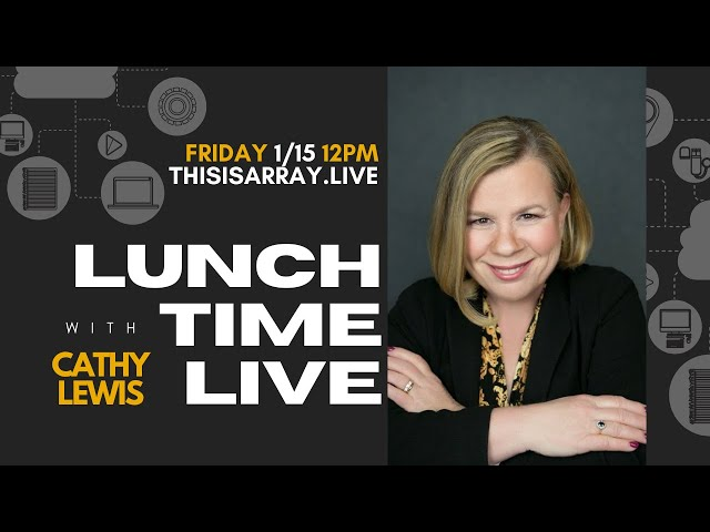 Cathy Lewis - Lunchtime Live