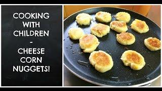 Cheese corn nuggets (easy peasy recipe)
