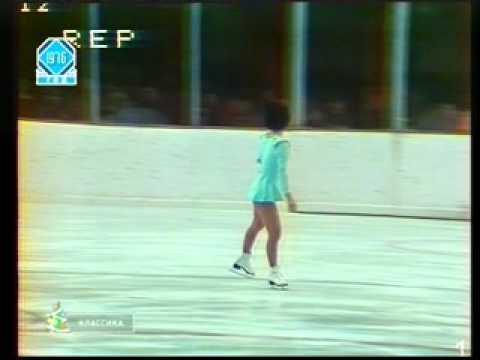 Emi Watanabe - 1976 Olympics - Free Skate