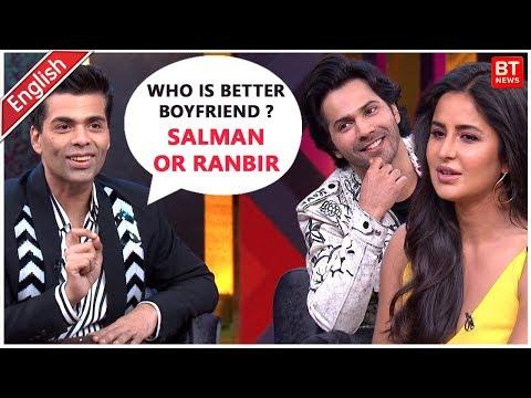 Koffee With Karan Season 6 Varun Dhawan And Katrina Kaif HD Video  Full Episode Highlights