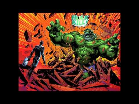 King Thanos Destroys the Worthy Silver Surfer