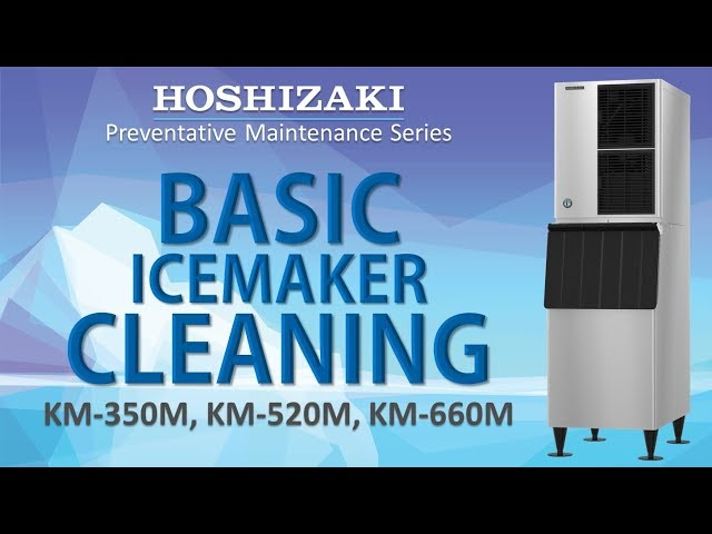 Basic KMEdge X Icemaker Cleaning | KM-350, KM-520, KM-660