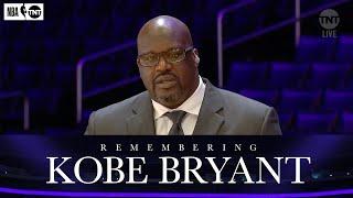 Shaq Remembers His Former Teammate and Friend Kobe Bryant | NBA on TNT