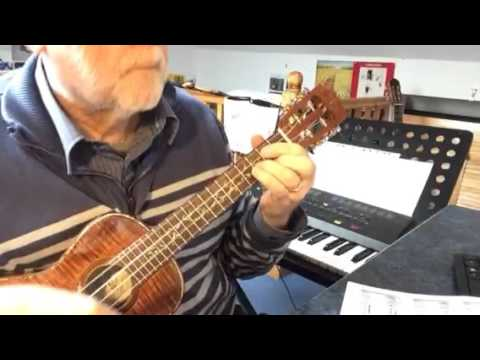The Young Ones - solo fingerstyle ukulele - Colin Tribe on LEHO