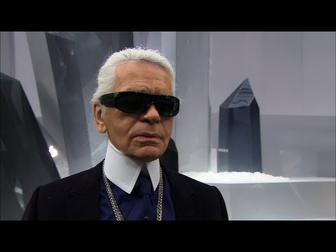 Karl Lagerfeld's Interview, CHANEL Fall-Winter 2012/13 Ready-to-Wear Show
