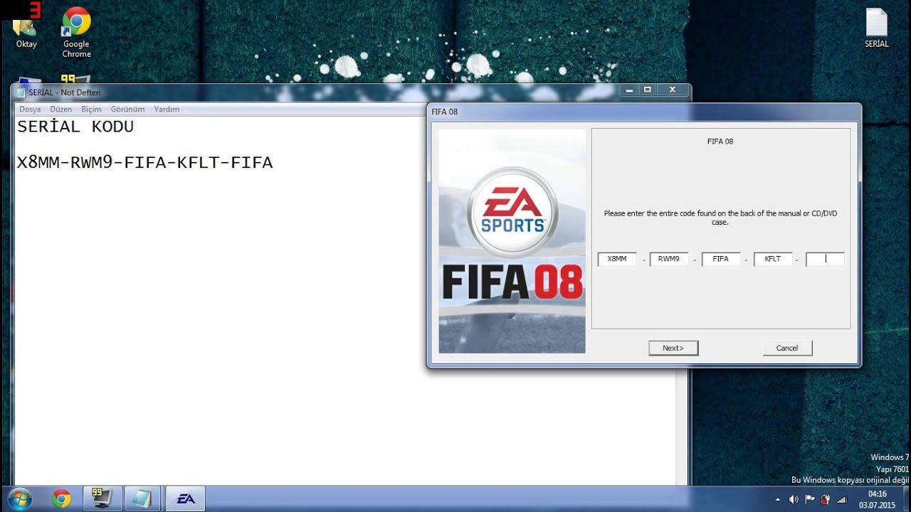 Лицензионный Ключ Для Fifa 08