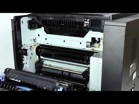 Replacing the Fuser on Dell 5130cdn Laser Printer